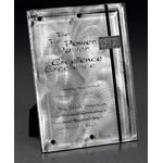 "Perpetual Fascination Plaque Award (9""x12""x1 1/2"") Engraved"