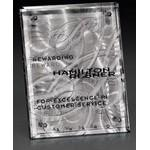 "Engraved Fascination Stainless Plaque (5""x7"")"