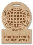 Custom Personalized Custom Golf Tags (6-10 sq. inches)