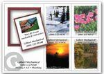 "Full Color Rectangle Frame Magnet w/ 2""x2 1/2"" Inserts (5 1/4""x7 1/4"") Custom Imprinted"