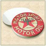 "Custom Printed Absorbent Stone Car Coaster (2.5"" Diameter) - Full Bleed Print"