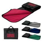 Deluxe Picnic Blanket w/Integrated Carry Case Custom Imprinted