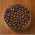 Custom Imprinted 20 Oz. Chocolate Covered Almonds Custom Gift Tin
