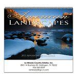 Custom Imprinted Stapled Wall Calendar (Landscapes of America)