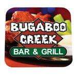 Custom Printed Full Color Process 40 Point Square Pulp Board Coaster