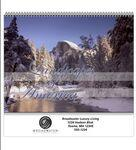 Custom Printed Spiral Bound Wall Calendar (Landscapes of America)