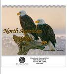 Logo Branded Spiral Bound Wall Calendar (North American Wildlife)