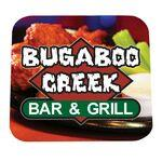 Full Color Process 60 Point Square Pulp Board Coaster Logo Branded