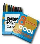 8 Count Crayon Pack Custom Imprinted