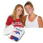 Custom Printed USA Flag Fanbrush Face Paint