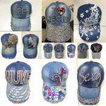 Customized Jeans Cowboy Adjustable Hats