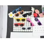 Detachable Sunglasses with PC frame and silver dots Logo Branded