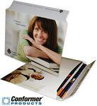 "Conformer Mailer Portfolio w/ Adhesive Strip Closure (9 3/4""x12 1/4"") 4/0 Custom Imprinted"
