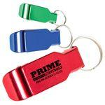 Aluminum Bottle Opener and Keychain Custom Printed