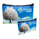 Logo Printed Zippered Pouch -- Large