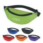 Logo Branded Budget Fanny Pack W/ a main zippered compartment