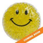 Smiley Gel Beads Hot/Cold Pack Customized