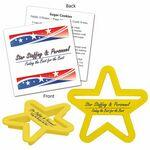 Logo Branded Star Cookie Cutter