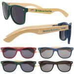 Custom Printed Wooden Bamboo Sunglasses