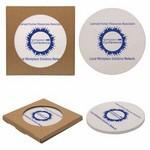 Custom Printed Single Round Stone Coaster