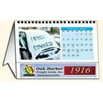 "In The Image 12 Image Horizontal Tent Desk Calendar (8.5""x4.25"") Logo Branded"