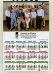 "Custom Imprinted Custom Color Year-at-a-Glance Wall Calendar (11""x17"")"