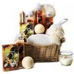 Bath & Spa Gift Basket Custom Imprinted