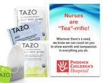 "Promotional Nurses are ""Tea""-rrific Trio Kit"