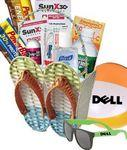 Logo Branded Summer Survival Gift Basket