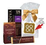 Custom Imprinted Godiva Dark Chocolate Sampler