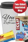 You Make A Difference Tumbler Mug (White) Custom Printed