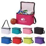 Logo Branded Insulated 6-Can Cooler Bag