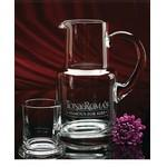 Custom Printed Executive Pitcher and Glass Set