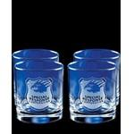 Custom Imprinted Set of Four Skyline Classic Rocks Glass (11 Oz.)