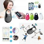 Custom Imprinted iTag Bluetooth Tracer Smart Finder Pet Kids GPS Locator Alarm Wallet Key Tracker