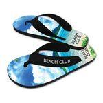 Brand Gear™ Costa Rica™ Deluxe Flip Flop Sandals Logo Printed