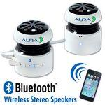 Logo Branded AudioStar™ A26 Bluetooth Stereo Speakers