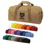"Custom Imprinted Brand Gear Dallas Polyester Duffel Bag w/ Shoulder Strap (23""x11""x11"")"
