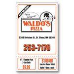 "Econo Card with 2 Perforations (3 1/2""x5 3/4"") Custom Printed"