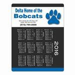 "Promotional Adhesive Mouse Pad Calendar (8 1/2""x11"")"