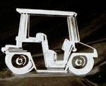 Golf Cart Acrylic Paperweight (Up To 25 Square Inch) Custom Imprinted