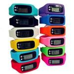 Silicone Watch Digital Wristband Pedometer Logo Printed