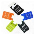 Phone Silicone Card Holders / Cell Wallets Logo Branded
