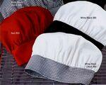 White / Black Chef Designs Chef Hat Custom Imprinted