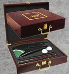 Logo Branded Rosewood Executive Golf Gift Box