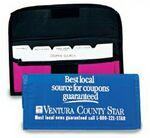 Logo Branded Nylon Coupon Pack w/15 Index Cards Dividers