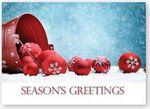 Modern Greeting Holiday Card w/Unlined Fastick® Envelope Branded