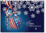 Display with Pride Holiday Card w/Unlined Fastick® Envelope Logo Printed