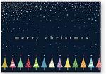 Delightful Christmas Holiday Card w/Unlined Envelope Branded