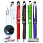 Logo Branded USA Made, Round Golf Pencil w/ Eraser